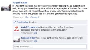 Airtel Presence